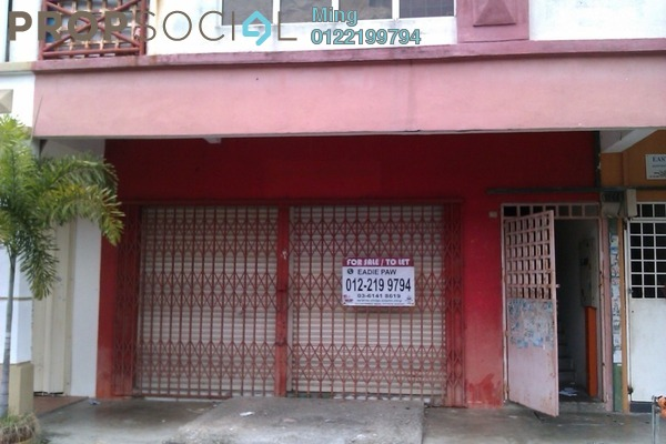 For Rent Shop at Taman Pinggiran Subang, Subang Freehold Unfurnished 0R/2B 2k