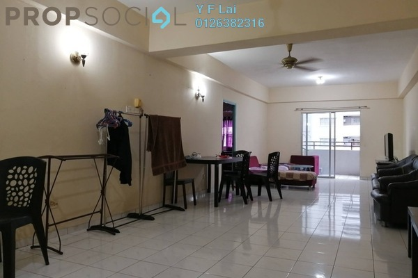 For Rent Condominium at Endah Ria, Sri Petaling Freehold Fully Furnished 3R/2B 1.6k