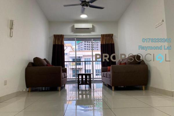 For Rent Serviced Residence at Spring Avenue, Kuchai Lama Freehold Fully Furnished 3R/2B 2k