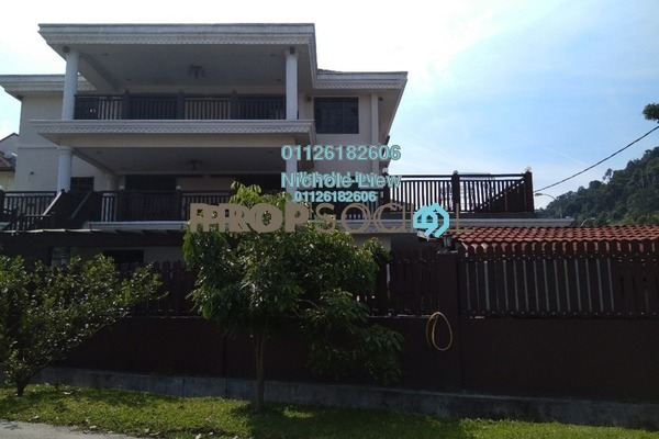 For Sale Bungalow at Taman Connaught, Cheras Leasehold Semi Furnished 6R/7B 2.88m
