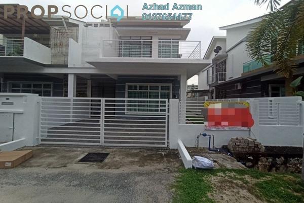 For Sale Semi-Detached at Royal Garden, Bandar Saujana Putra Freehold Fully Furnished 5R/4B 689k