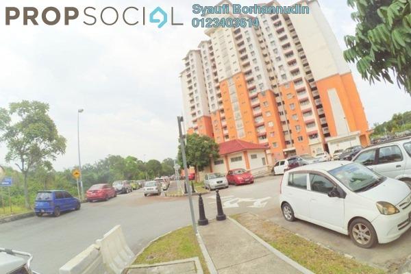 For Sale Apartment at Putra Damai Apartment, Putrajaya Freehold Unfurnished 3R/2B 275k