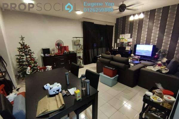 Condominium For Sale in Amandari, Segambut Freehold Semi Furnished 4R/3B 599k