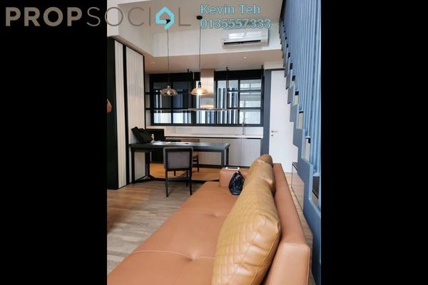 For Rent Duplex at TWY Mont Kiara, Mont Kiara Freehold Semi Furnished 1R/1B 2.5k