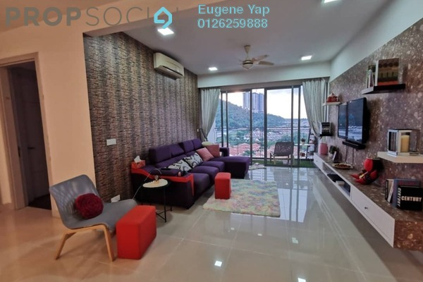 Condominium For Rent in The Westside One, Desa ParkCity Freehold Fully Furnished 1R/1B 2.7k