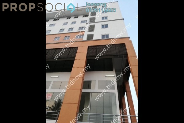 Apartment For Sale in Taman Daya, Kepong Freehold Unfurnished 0R/0B 142k
