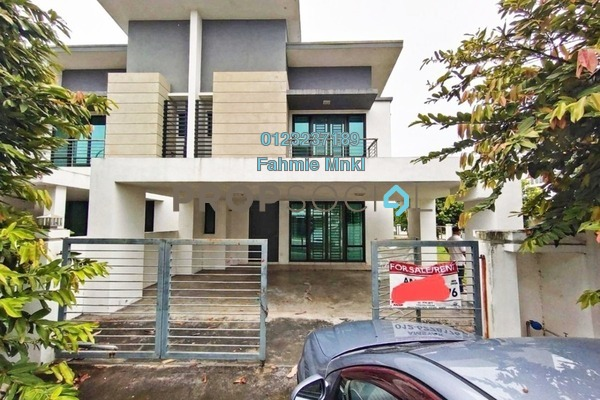 For Sale Terrace at Zircona, Alam Impian Freehold Semi Furnished 4R/5B 1m