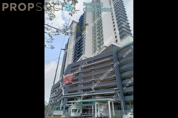Condominium For Sale in Saville @ D'Lake, Puchong Freehold Unfurnished 3R/2B 368k