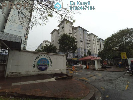 Apartment For Sale in Tasik Heights Apartment, Bandar Tasik Selatan Freehold Unfurnished 3R/2B 290k