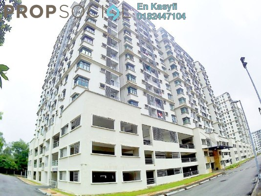 Condominium For Sale in Kristal View, Shah Alam Freehold Unfurnished 4R/2B 459k