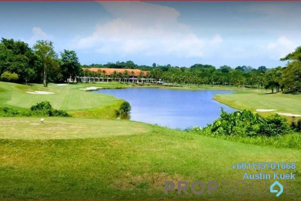 For Sale Land at Tiara Melaka Golf & Country Club, Melaka Freehold Unfurnished 0R/0B 725k