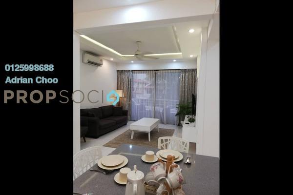 For Sale Condominium at Edgecumbe House, Pulau Tikus Freehold Fully Furnished 3R/2B 850k