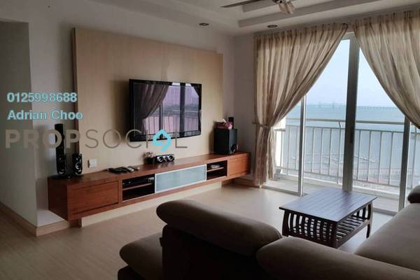 For Rent Condominium at The Spring, Jelutong Freehold Fully Furnished 4R/2B 2.4k