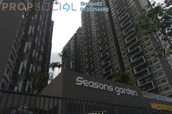 For Rent Condominium at Seasons Garden Residences, Wangsa Maju Freehold Fully Furnished 3R/2B 1.7k