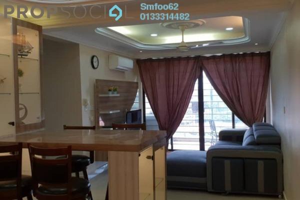 For Rent Condominium at Rivercity, Sentul Freehold Semi Furnished 3R/2B 2k