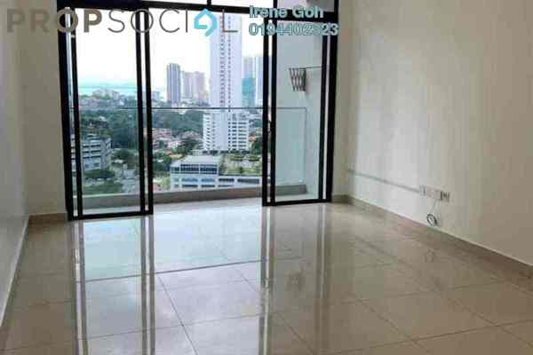For Rent Condominium at Mont Residence, Tanjung Tokong Freehold Semi Furnished 3R/2B 1.6k