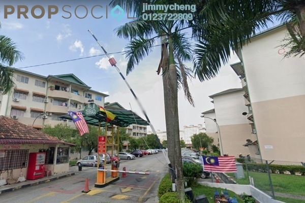 Apartment For Sale in Palm Terrace, Bandar Kinrara Freehold unfurnished 3R/2B 230k