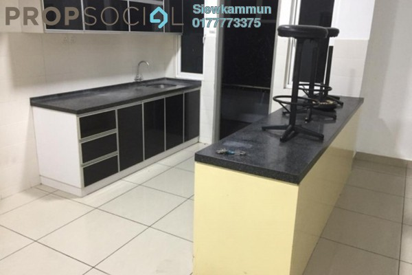 For Rent Condominium at First Residence, Kepong Freehold Semi Furnished 3R/2B 1.4k
