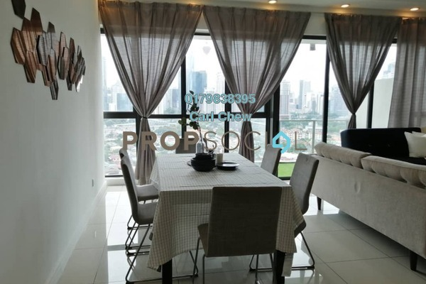For Rent Condominium at Setia Sky Residences, KLCC Freehold Fully Furnished 3R/3B 4.8k