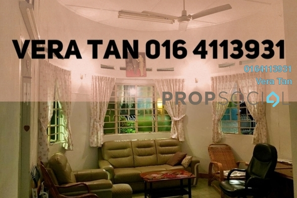 Semi-Detached For Rent in Jalan Air Itam, Air Itam Freehold Fully Furnished 5R/2B 3.5k