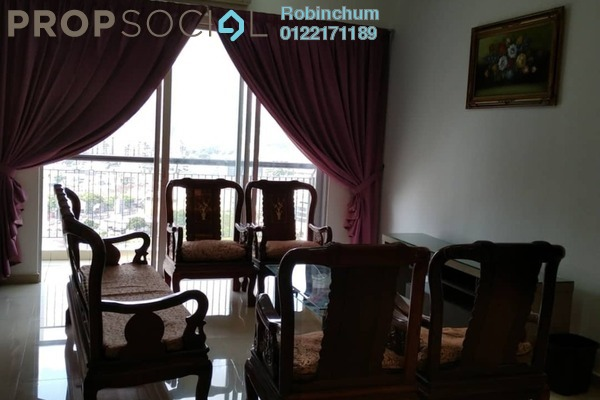 For Rent Condominium at Vistaria Residensi, Cheras Freehold Fully Furnished 4R/2B 2.3k