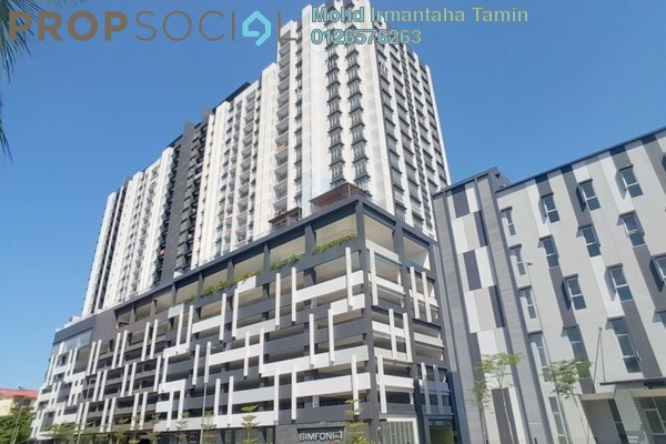 Condominium For Rent in Symphony Residence, Kajang Freehold semi_furnished 3R/2B 1.2k