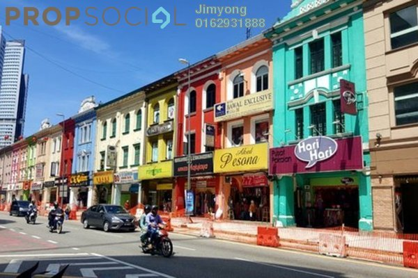 For Rent Office at Jalan Tuanku Abdul Rahman, Chow Kit Freehold Unfurnished 1R/1B 7k