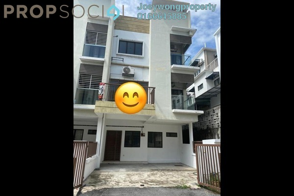 Townhouse For Rent in Kampung Kayu Ara, Bandar Utama Freehold Semi Furnished 3R/3B 2k
