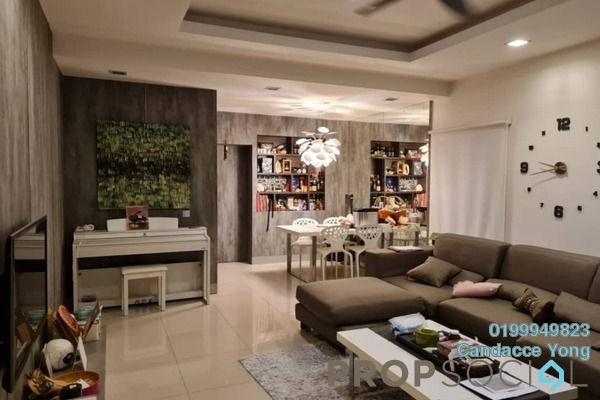 Semi-Detached For Sale in Setia Impian 7, Setia Alam Freehold Fully Furnished 3R/3B 800k