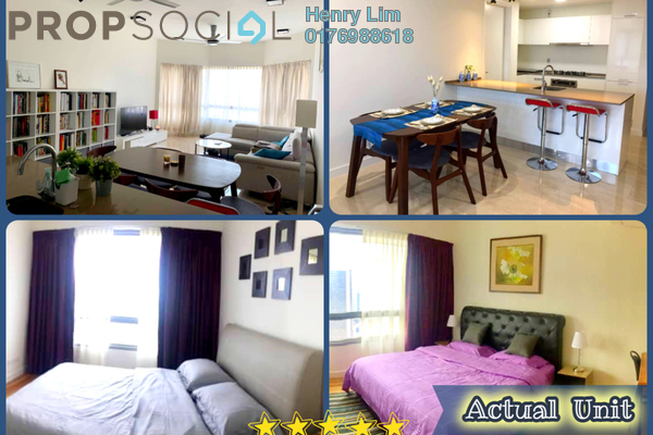 For Rent Condominium at The Sentral Residences, KL Sentral Freehold Fully Furnished 2R/3B 4.5k