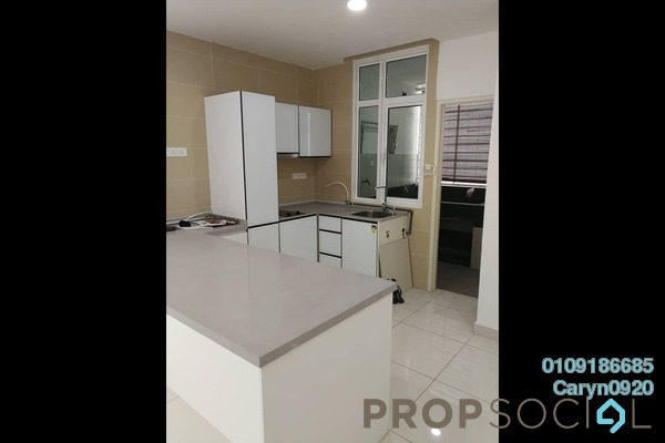 For Rent Condominium at Central Residence, Sungai Besi Freehold Semi Furnished 3R/2B 1.5k