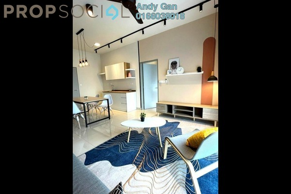 For Sale Serviced Residence at LakePark Residence @ KL North, Selayang Freehold Fully Furnished 3R/2B 500k