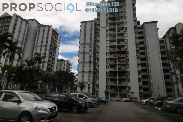 Condominium For Sale in Miharja Condominium, Cheras Freehold Unfurnished 3R/2B 245k