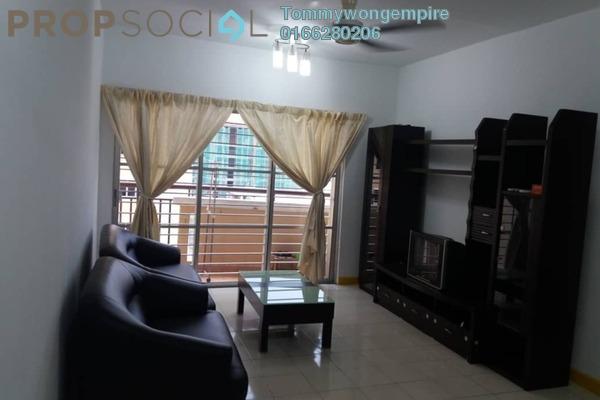 For Rent Condominium at Cengal Condominium, Bandar Sri Permaisuri Freehold Fully Furnished 3R/2B 1.7k