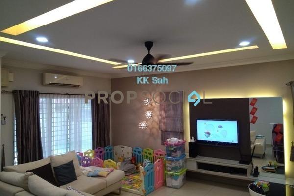 For Sale Superlink at Taman Sri Putra, Sungai Buloh Freehold Fully Furnished 4R/3B 795k