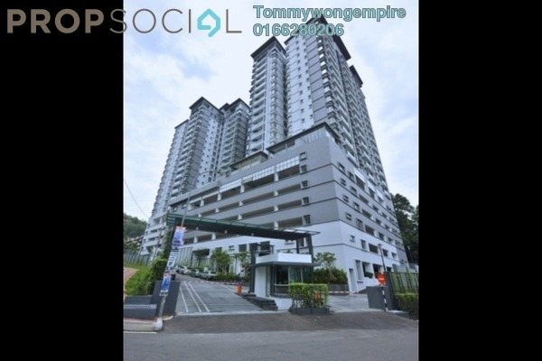 Condominium For Rent in Green Terrain, Cheras South Freehold Semi Furnished 4R/3B 1.8k