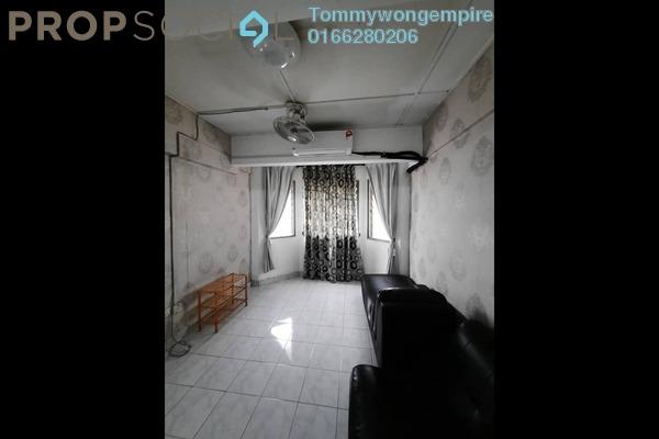 Apartment For Rent in Indah Mas Apartment, Bandar Sri Permaisuri Freehold Fully Furnished 3R/1B 1.2k