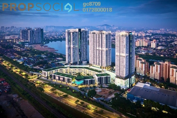 Condominium For Rent in EcoSky, Kuala Lumpur Freehold Semi Furnished 3R/3B 2.8k