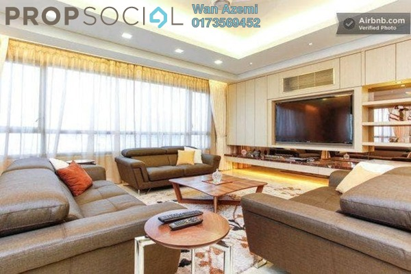 Condominium For Sale in The CapSquare Residences, Dang Wangi Freehold Fully Furnished 6R/6B 2.35m