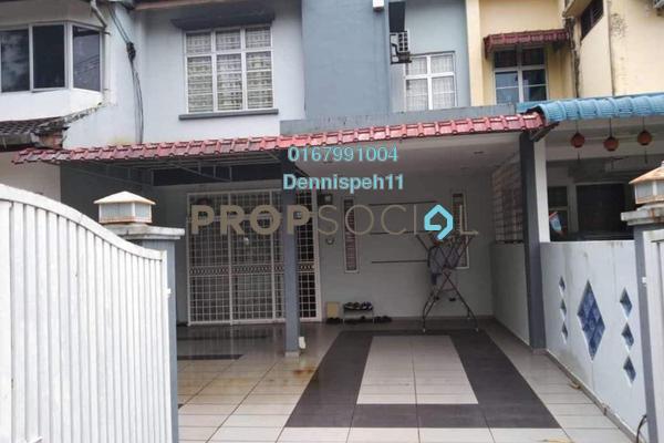 Terrace For Sale in Taman Puteri Wangsa, Ulu Tiram Freehold Semi Furnished 0R/0B 420k