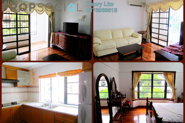 For Rent Townhouse at Ampang 971, Ampang Hilir Freehold Fully Furnished 3R/2B 2.8k