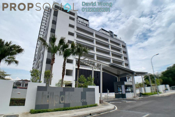 Serviced Residence For Rent in Hillpark Residence, Semenyih Freehold Unfurnished 2R/1B 1k