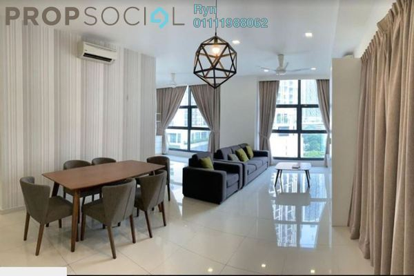 Condominium For Rent in Mirage Residence, KLCC Freehold Fully Furnished 3R/3B 5.5k