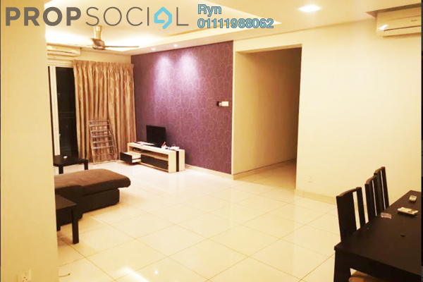 For Rent Condominium at Ceriaan Kiara, Mont Kiara Freehold Fully Furnished 4R/3B 3.5k