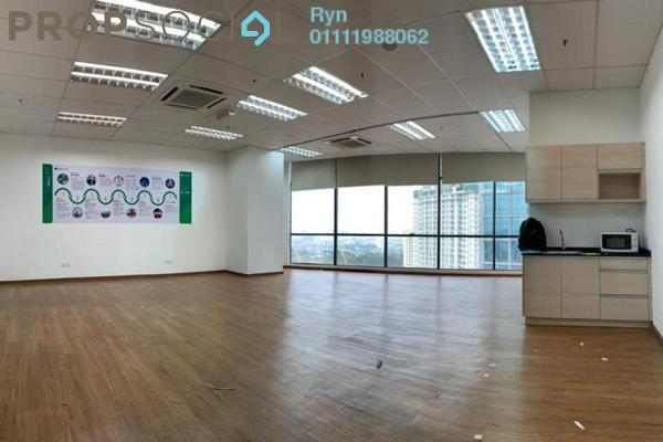 Office For Rent in The Vertical, Bangsar South Freehold Semi Furnished 1R/1B 4k