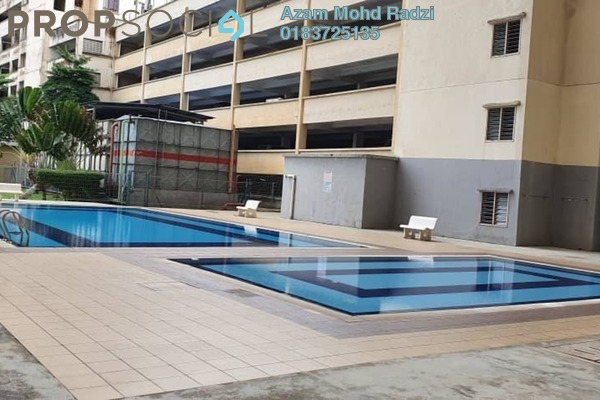 Apartment For Rent in Permai Puteri, Ampang Freehold Semi Furnished 3R/2B 1.3k