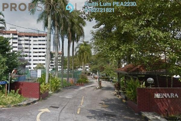 Apartment For Rent in Menara Impian, Ampang Freehold Semi Furnished 3R/2B 1.3k