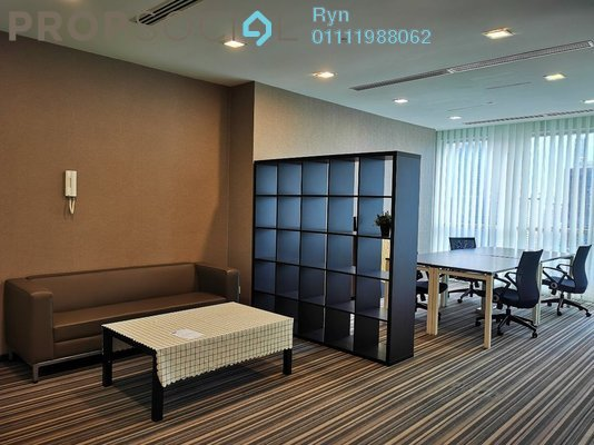 For Rent Office at Binjai 8, KLCC Freehold Fully Furnished 5R/1B 10k