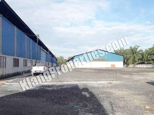 For Rent Factory at Jenjarom, Selangor Freehold Unfurnished 0R/0B 115k