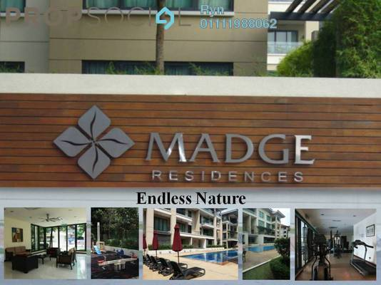 For Rent Condominium at The Madge, Ampang Hilir Freehold Fully Furnished 6R/0B 22k